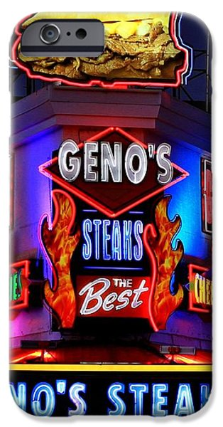 Cheesesteak Heaven iPhone Case by Benjamin Yeager