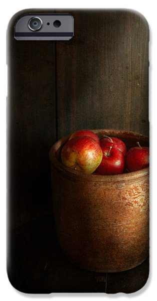 Chef - Fruit - Apples iPhone Case by Mike Savad