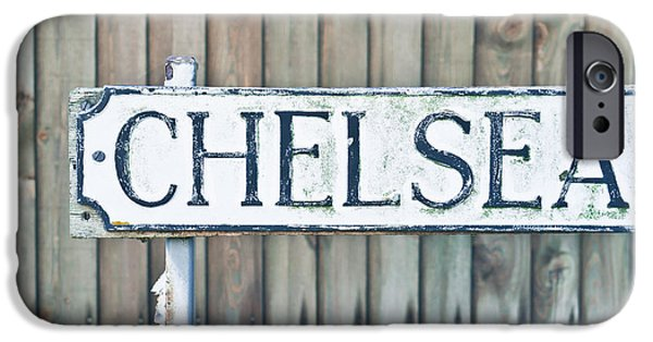 Posh iPhone Cases - Chelsea iPhone Case by Tom Gowanlock
