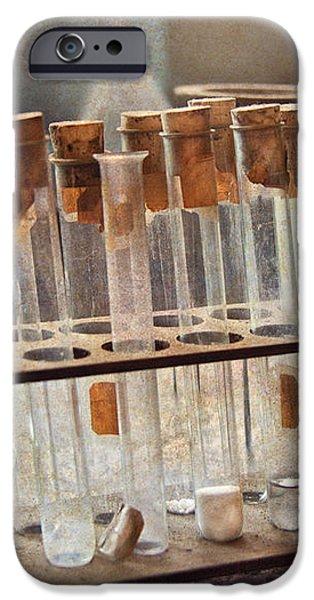 Chemist - Specimen iPhone Case by Mike Savad