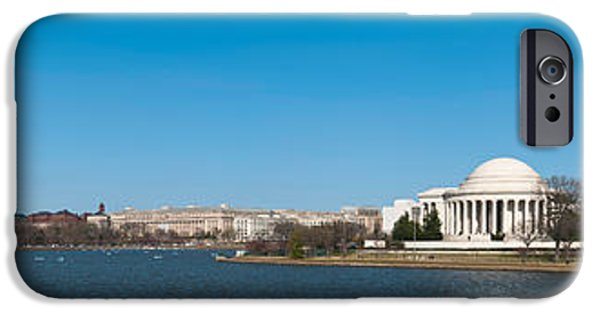 National Mall iPhone Cases - Cherry Blossom Buds Just Before Full iPhone Case by Panoramic Images