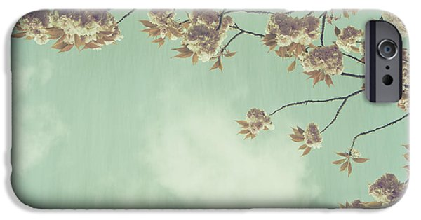 Outmoded iPhone Cases - Cherry Blossom in Fulwood Park iPhone Case by Nomad Art And  Design