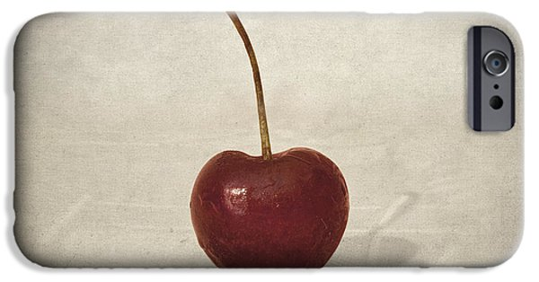 Reflection Harvest iPhone Cases - Cherry iPhone Case by Taylan Soyturk