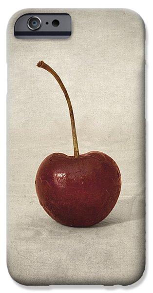 Cherry iPhone Case by Taylan Soyturk