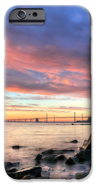 Annapolis Maryland iPhone Cases - Chesapeake Mornings  iPhone Case by JC Findley