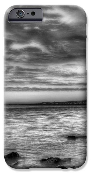 Chesapeake Splendor BW iPhone Case by JC Findley