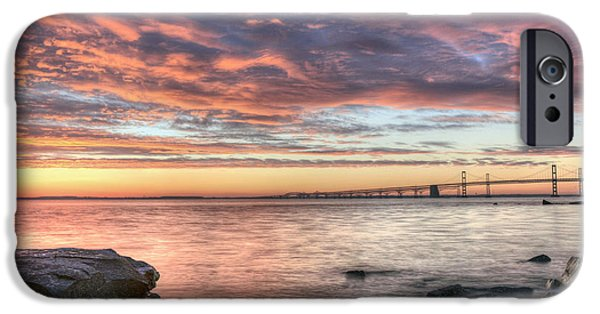 Annapolis Maryland iPhone Cases - Chesapeake Splendor  iPhone Case by JC Findley