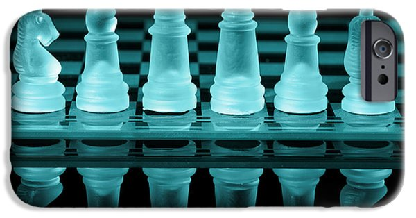 Strategy iPhone Cases - Chess Board iPhone Case by Amanda And Christopher Elwell