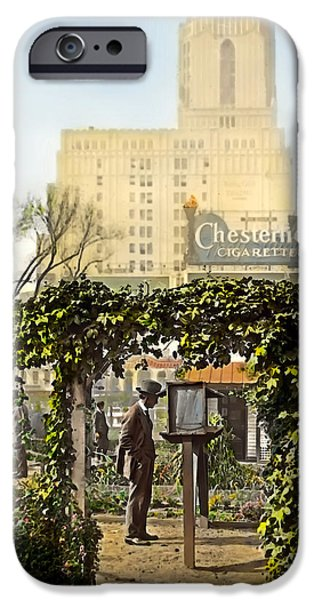 Chesterfield Cigarettes iPhone Case by Terry Reynoldson