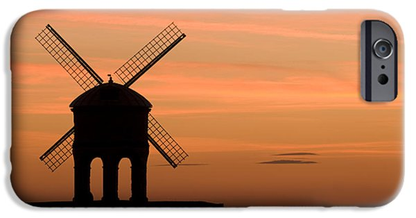 Wark iPhone Cases - Chesterton Sunset iPhone Case by Anne Gilbert