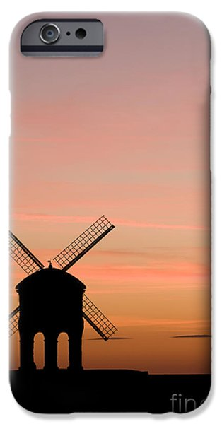 Chesterton Windmill iPhone Case by Anne Gilbert