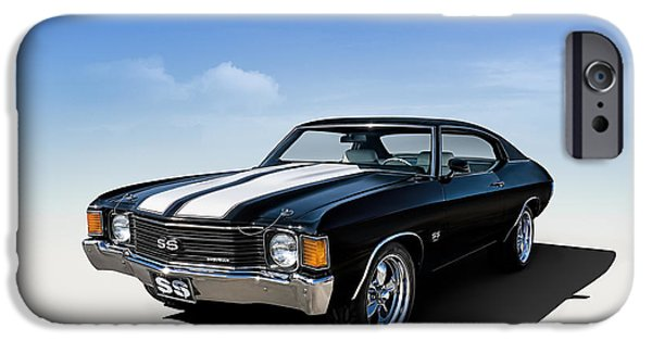 Stripes iPhone Cases - Chevelle SS iPhone Case by Douglas Pittman