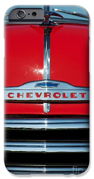 Truck iPhone Cases - Chevrolet 3100 1953 Pickup iPhone Case by Tim Gainey