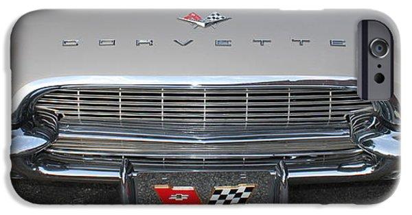 Racing iPhone Cases - Chevrolet Corvette iPhone Case by Reid Callaway