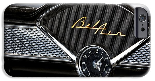 Custom Made iPhone Cases - Chevy Bel Air iPhone Case by Susan Candelario
