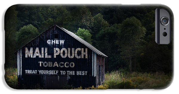 Americana Photographs iPhone Cases - Chew Mailpouch iPhone Case by Tom Mc Nemar
