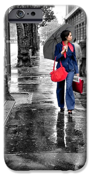 Rainy Day iPhone Cases - Chic iPhone Case by Nikolyn McDonald
