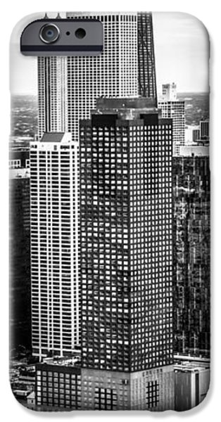 Lake Shore Drive iPhone Cases - Chicago Aerial Vertical Panorama Photo iPhone Case by Paul Velgos