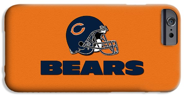 Chicago iPhone Cases - Chicago Bears iPhone Case by Marvin Blaine