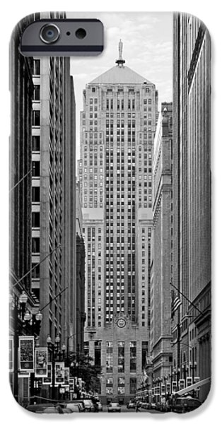 Chicago Board of Trade iPhone Case by Christine Till