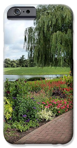 Chicago Botanical Gardens - 96 iPhone Case by Ely Arsha