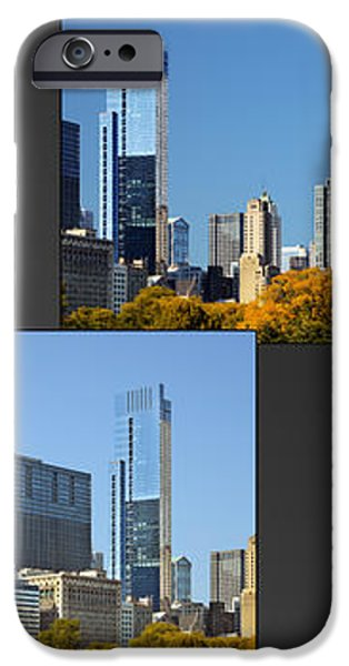 Chicago City of Skyscrapers iPhone Case by Christine Till