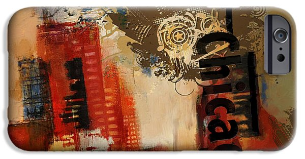 Chicago iPhone Cases - Chicago Collage Alternative iPhone Case by Corporate Art Task Force