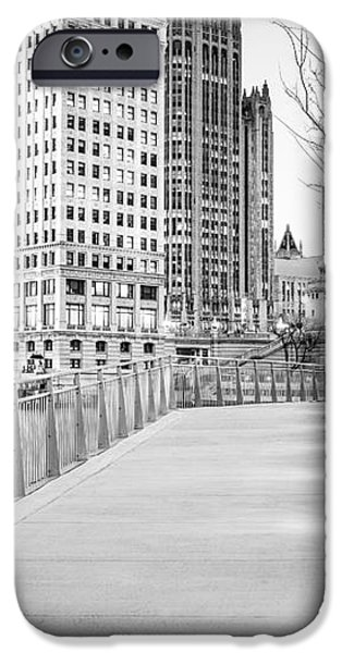 Chicago Downtown City Riverwalk iPhone Case by Paul Velgos
