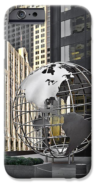 Chicago - Home of Fine Art iPhone Case by Christine Till