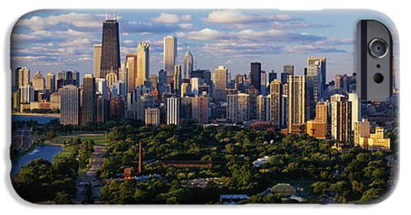 Sears Tower iPhone Cases - Chicago Il iPhone Case by Panoramic Images