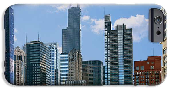 Interior Scene iPhone Cases - Chicago - Its Your Kind of Town iPhone Case by Christine Till