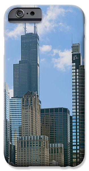 Chicago - It's Your Kind of Town iPhone Case by Christine Till