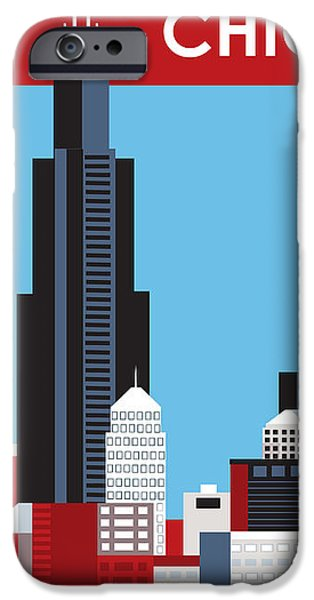 Chicago iPhone Case by Karen Young