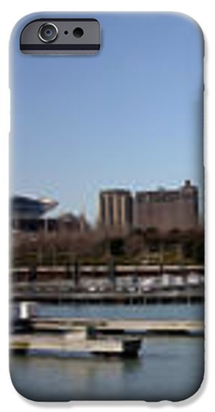 Chicago Lakefront - Soldier Field to Willis Tower iPhone Case by David Bearden