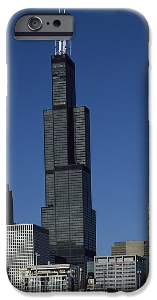 Willis Tower iPhone Cases - Chicago Landmark iPhone Case by Mountain Dreams