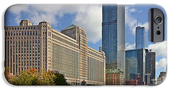 Merchandise iPhone Cases - Chicago Merchandise Mart iPhone Case by Christine Till