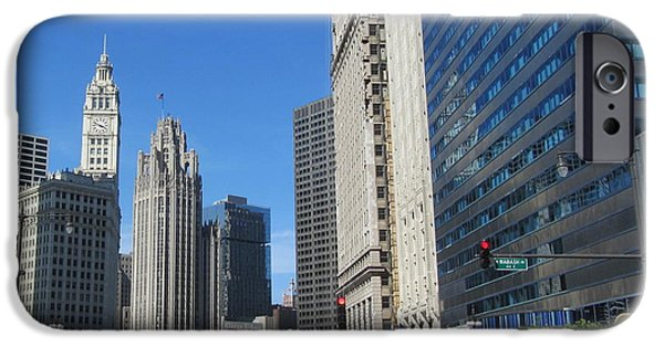 Miracle iPhone Cases - Chicago Miracle Mile 2 iPhone Case by Anita Burgermeister