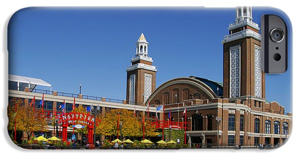 Interior Scene iPhone Cases - Chicago Navy Pier Headhouse iPhone Case by Christine Till