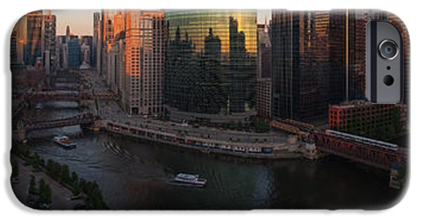 Willis Tower iPhone Cases - Chicago On The River iPhone Case by Steve Gadomski