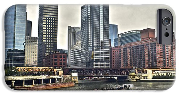 Chicago Cubs iPhone Cases - Chicago River iPhone Case by Frozen in Time Fine Art Photography