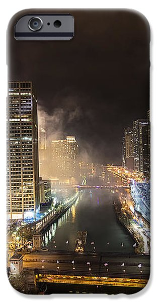 Chicago River iPhone Case by Jeff Lewis
