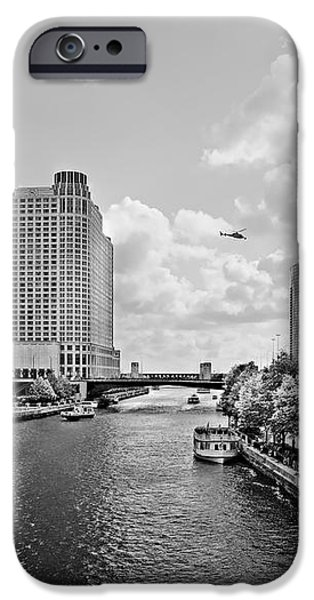 Chicago River - The River that flows backwards iPhone Case by Christine Till