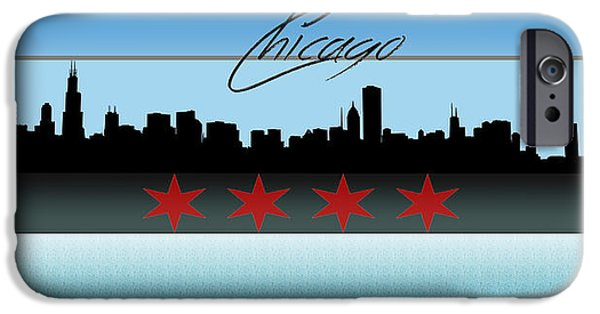 Willis Tower iPhone Cases - Chicago Skyline iPhone Case by Becca Buecher