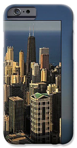 Chicago Skyline from Willis Tower iPhone Case by Christine Till