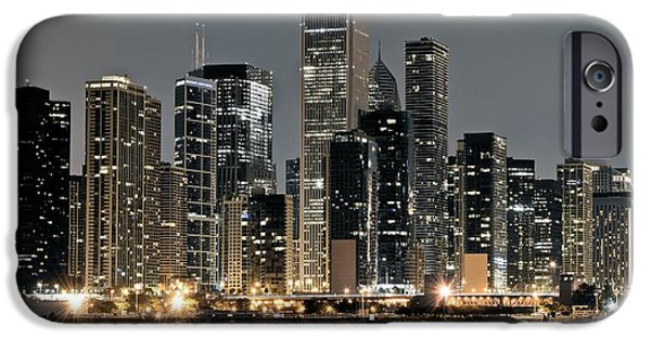 Willis Tower iPhone Cases - Chicago Standing Tall iPhone Case by Frozen in Time Fine Art Photography