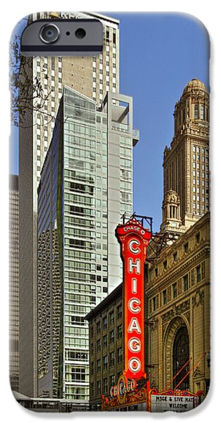Chicago Theatre - This theater exudes class iPhone Case by Christine Till