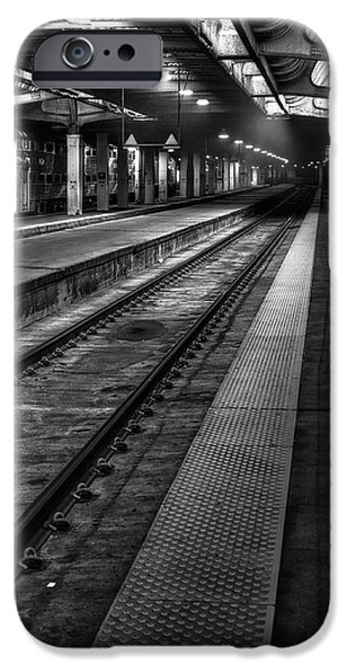Smoky iPhone Cases - Chicago Union Station iPhone Case by Scott Norris