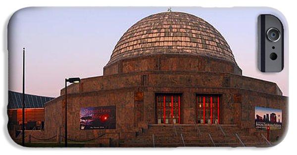 Chicago iPhone Cases - Chicagos Adler Planetarium iPhone Case by Adam Romanowicz