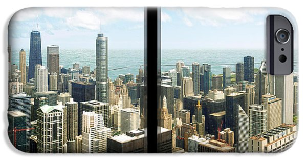 Sears Tower iPhone Cases - Chicagos Tallest iPhone Case by Doug Kreuger