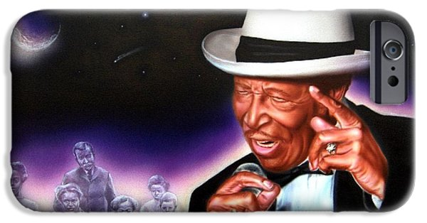 Chico iPhone Cases - Chico Vega of the Drifters iPhone Case by James Loveless